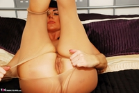 Raunchy Raven. Pantyhose Ripping In Bed Pt3 Free Pic 3