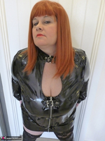Mrs Leather. PVC Dress Free Pic 1