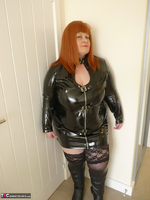 Mrs Leather. PVC Dress Free Pic 3