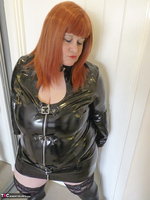 Mrs Leather. PVC Dress Free Pic 4