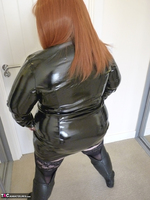 Mrs Leather. PVC Dress Free Pic 6