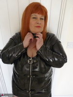 Mrs Leather. PVC Dress Free Pic 9