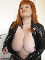 Mrs Leather. PVC Dress Free Pic 15