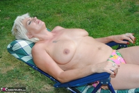 . Naked & Topless In The Garden Free Pic 4