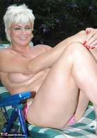 . Naked & Topless In The Garden Free Pic 8