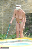. Naked & Topless In The Garden Free Pic 13