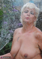 . Naked & Topless In The Garden Free Pic 16