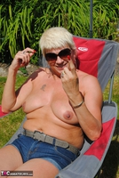 . Naked & Topless In The Garden Free Pic 19