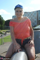 . Posing In The Park Free Pic 6