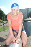 . Posing In The Park Free Pic 7