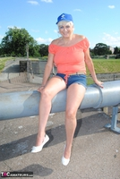. Posing In The Park Free Pic 8