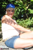 . Posing In The Park Free Pic 17