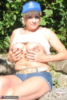 . Posing In The Park Free Pic 18