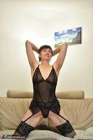 Hot Milf. Black Nylons Pt1 Free Pic 8