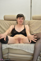 Hot Milf. Black Nylons Pt2 Free Pic 1