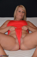 Sweet Susi. Red Swimsuit Free Pic 6