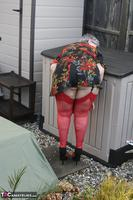 ValGasmic Exposed. Red Stockings Free Pic 6