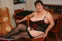Kinky Carol. Stockings, Red & Black Pt3 Free Pic 1