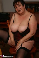 Kinky Carol. Stockings, Red & Black Pt3 Free Pic 4