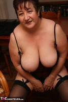 Kinky Carol. Stockings, Red & Black Pt3 Free Pic 5