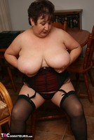 Kinky Carol. Stockings, Red & Black Pt3 Free Pic 7