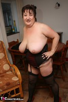 Kinky Carol. Stockings, Red & Black Pt3 Free Pic 9