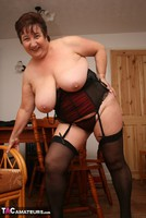 Kinky Carol. Stockings, Red & Black Pt3 Free Pic 10