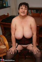 Kinky Carol. Stockings, Red & Black Pt3 Free Pic 16