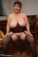 Kinky Carol. Stockings, Red & Black Pt3 Free Pic 17