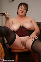 Kinky Carol. Stockings, Red & Black Pt3 Free Pic 20
