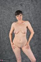 Hot Milf. Blue Jeggings & White Blouse Free Pic 17