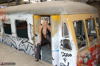 Sweet Susi. On The Old Train Pt1 Free Pic 3