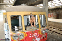 Sweet Susi. On The Old Train Pt1 Free Pic 5