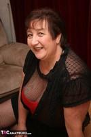Kinky Carol. Bodystocking, Black & Red Pt1 Free Pic 2