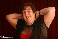 Kinky Carol. Bodystocking, Black & Red Pt1 Free Pic 9