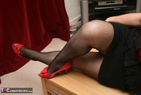 Kinky Carol. Bodystocking, Black & Red Pt1 Free Pic 11