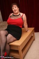 Kinky Carol. Bodystocking, Black & Red Pt1 Free Pic 14