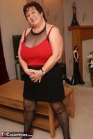 Kinky Carol. Bodystocking, Black & Red Pt1 Free Pic 18