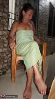 Diana Ananta. Balcony Striptease Pt1 Free Pic 1