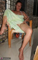 Diana Ananta. Balcony Striptease Pt1 Free Pic 2