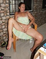 Diana Ananta. Balcony Striptease Pt1 Free Pic 3