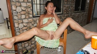 Diana Ananta. Balcony Striptease Pt1 Free Pic 5