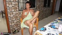 Diana Ananta. Balcony Striptease Pt1 Free Pic 7