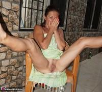 Diana Ananta. Balcony Striptease Pt1 Free Pic 8