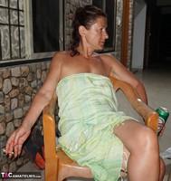 Diana Ananta. Balcony Striptease Pt1 Free Pic 14