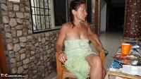 Diana Ananta. Balcony Striptease Pt1 Free Pic 16
