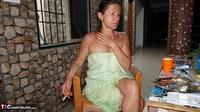 Diana Ananta. Balcony Striptease Pt1 Free Pic 19