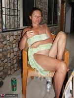 Diana Ananta. Balcony Striptease Pt1 Free Pic 20