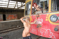 Sweet Susi. On The Old Train Pt2 Free Pic 20