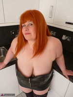 Mrs Leather. My Leather Kitchen Worktop Free Pic 1